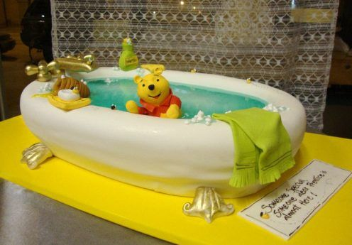 Custom Cakes Gallery - Baby Shower Cakes - TipsyCake Chicago