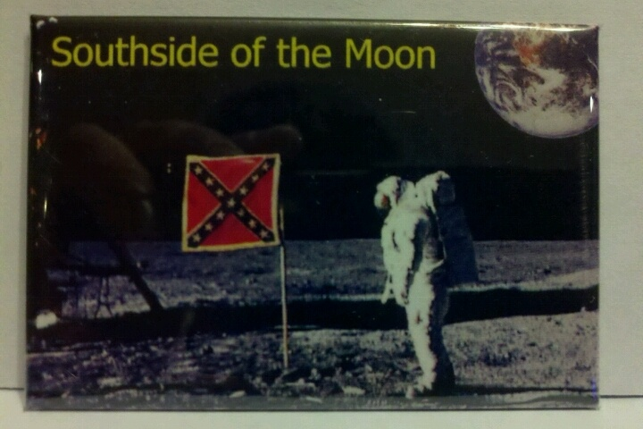 SOUTHSIDE OF THE MOON CONFEDERATE FLAG