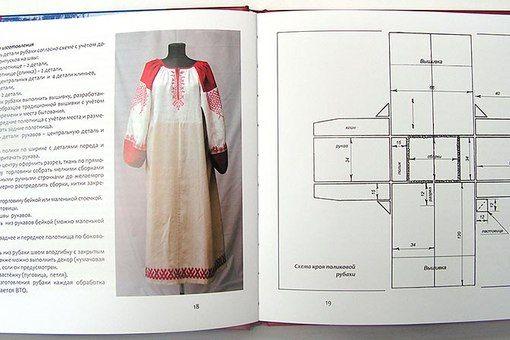 Как сшить народный костюм русский народный 63