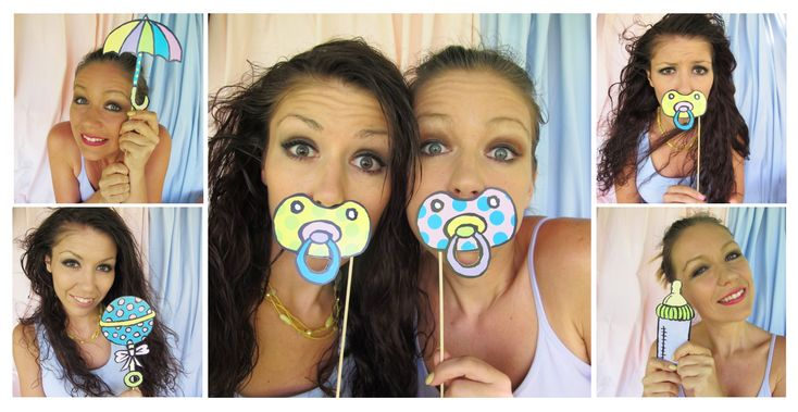 baby photo booth props baby shower ideas pinterest