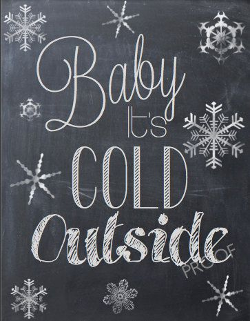 Baby It's Cold Outside PDF