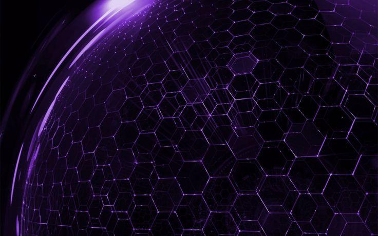 purple hexagon