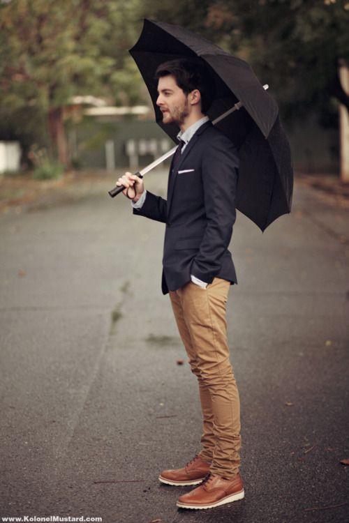 Le look de pluie. (a.k.a. style d'Angleterre)