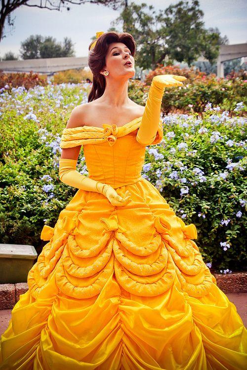 Belle at Disney World