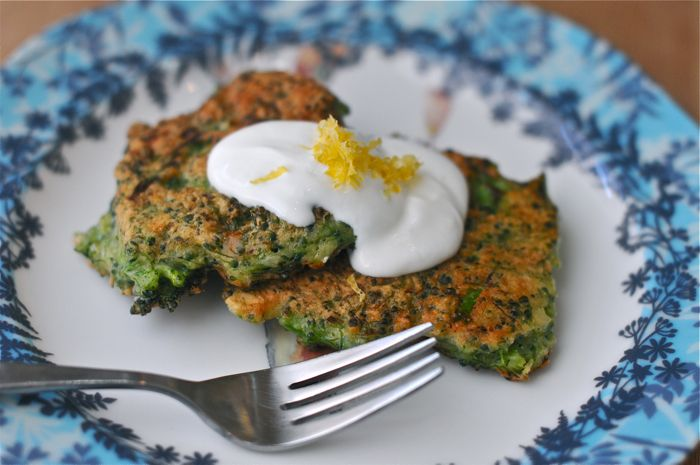 Broccoli fritters | drink + dine | Pinterest