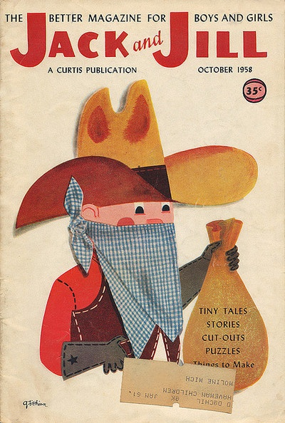 Jack & Jill Magazine, October 1958.