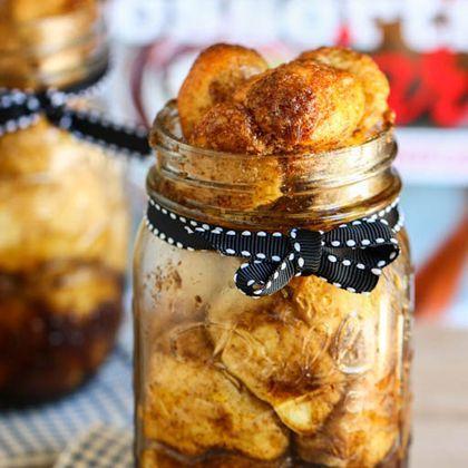Monkey Bread in a Jar | Foodstuffs! | Pinterest