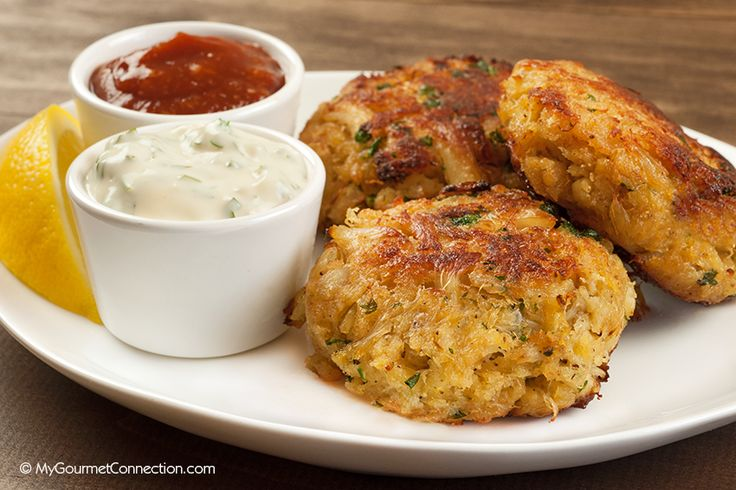 Maryland-Style Crab Cakes from MyGourmetConnection