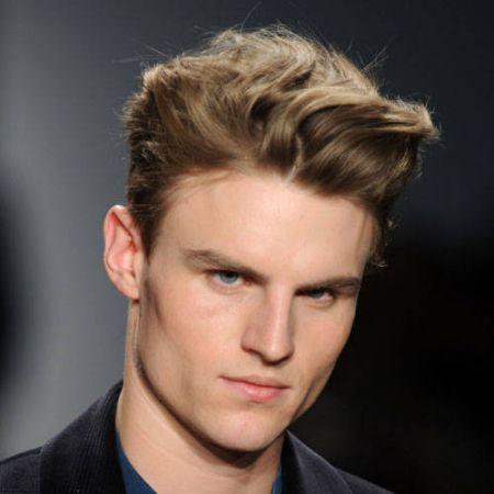 Galerry pompadour hairstyle for curly hair