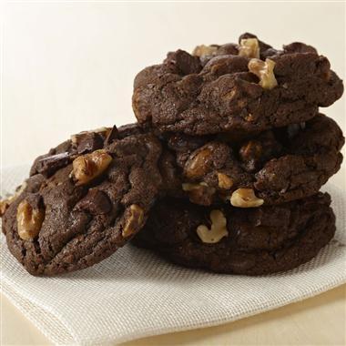 Double Chocolate Chunk Cookies | Recipe