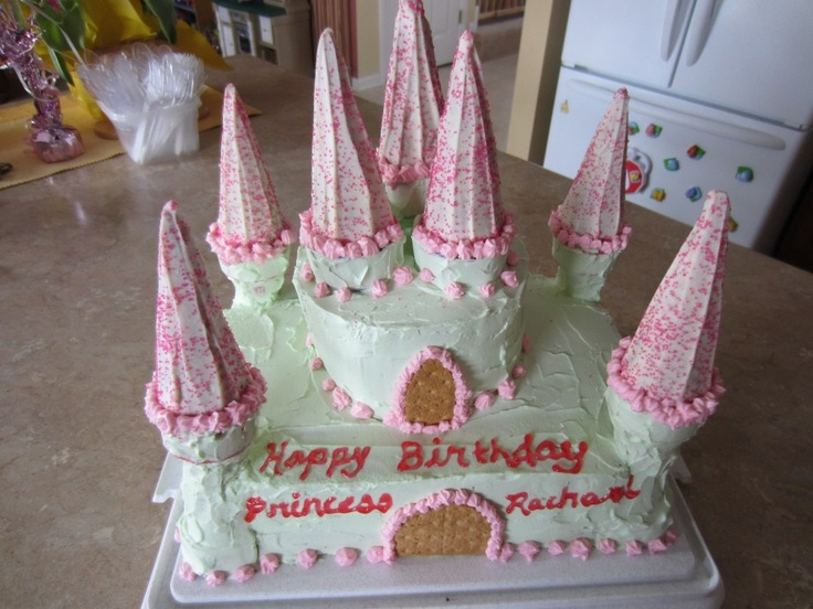 Homemade Princess Birthday Cake Ideas 25043 Homemade Princ