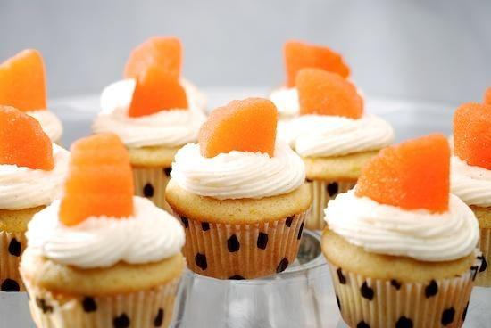 Cupcake Recipes : Orange Vanilla Bean Cupcakes