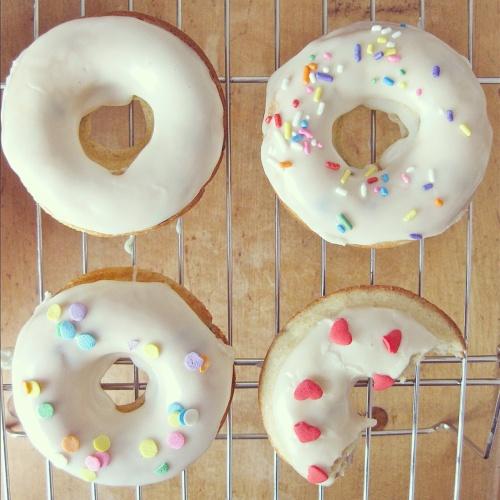 Chocolate Chip Doughnuts | Doughnuts Baked | Pinterest