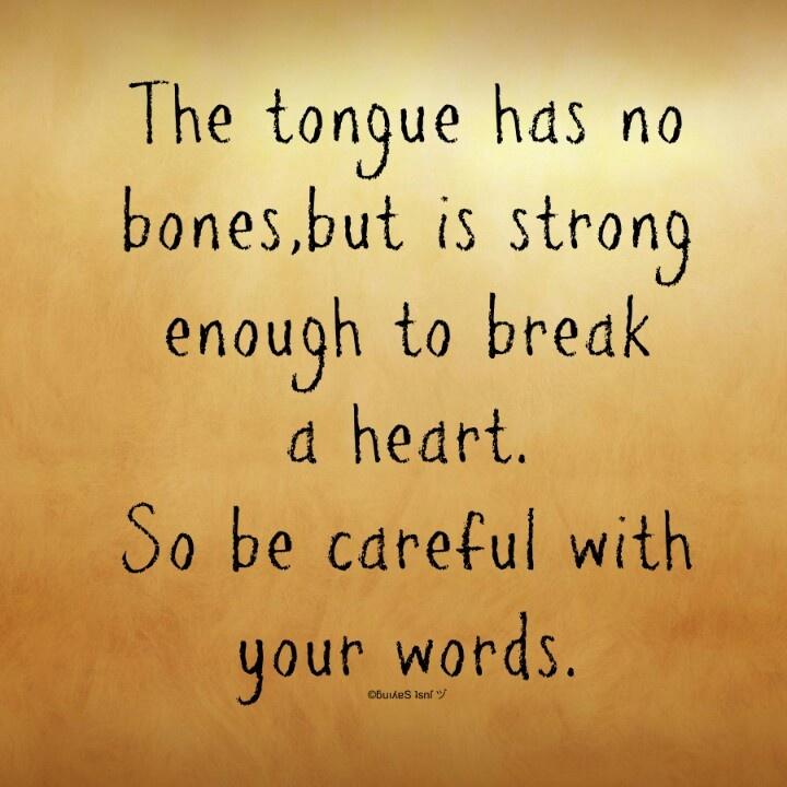 Tongue Quotes Quotesgram