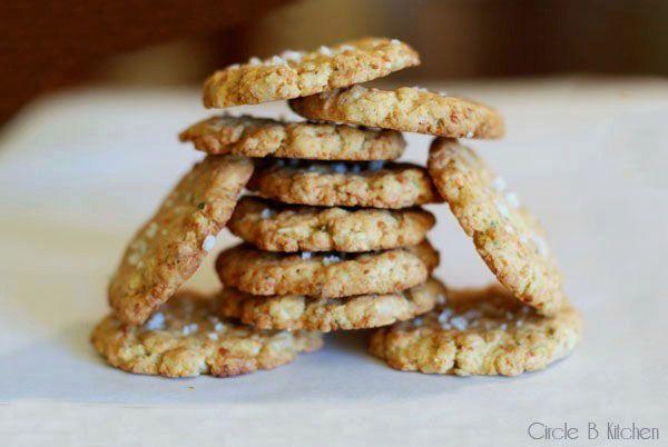Savory Oatmeal Cookies | cookies | Pinterest