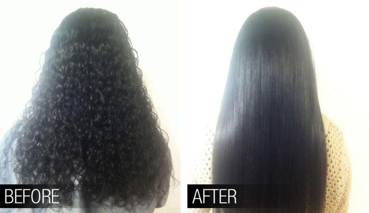 chemical straightening Hair- Portfolio Pinterest