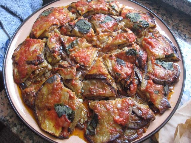 Skillet Eggplant Parmigiana Recipe — Dishmaps
