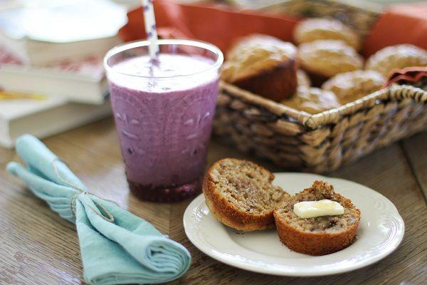 Gluten Free Banana Walnut Muffins | Recipe
