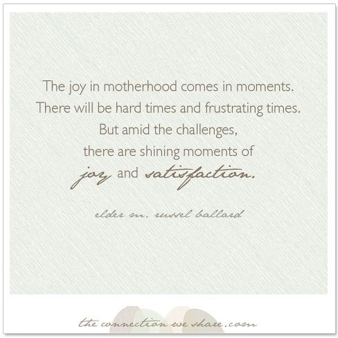 How To Be A Good Mother - Parenting Quotes - Motherhood Moments | The Connection We Share