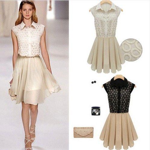 2013 Hot Sale Women Fashion 7 Styles Chiffon Dress Lace Lady Skirts s