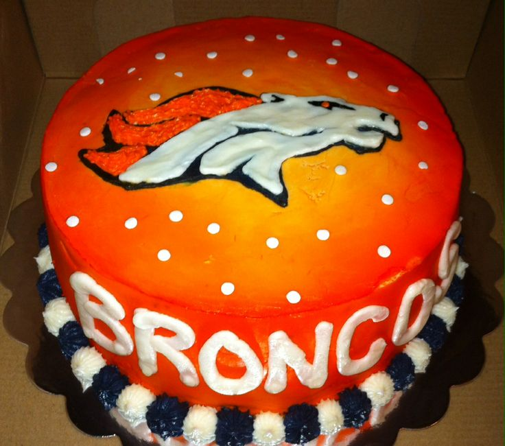 Denver Broncos cake  Cakes  Pinterest ~ 183647_Birthday Party Ideas Denver