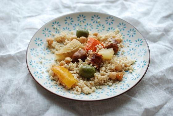 Fennel, Merguez, and Preserved Meyer Lemon Braise recipe on Food52.com