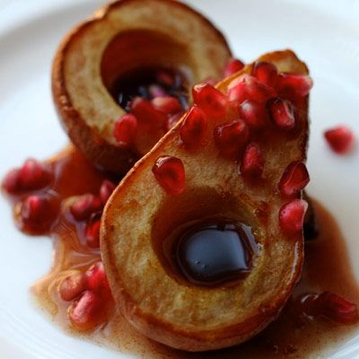 Roasted Pears with Pomegranate Sauce - Easy cake recipes, dessert ...