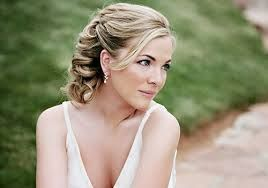 Blonde bridal hairstyles good colour Formal event hairstyle