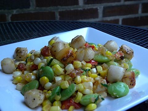 Pan Seared Scallops with Bacon Succotash Recipe From Cook's ...