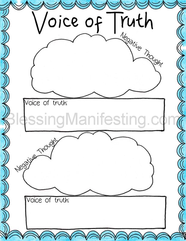 free} printable voice of truth | Free Printables: Journaling and Self ...