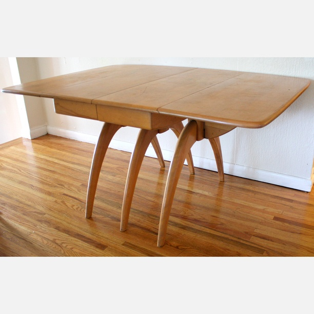 Heywood Wakefield Dining Table Is There Any Wonder Why HW Has Such A
