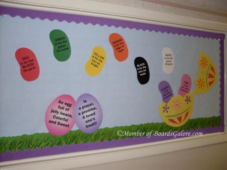Easter chicks bulletin board ideas easter bulletin board idea
