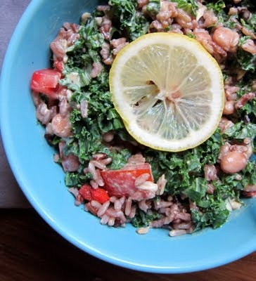 Kale & Rice Bowl | Yum | Pinterest