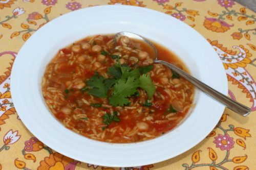 harira...easy moroccan Chick-Pea (startg w dry beans) and Lentil Soup ...