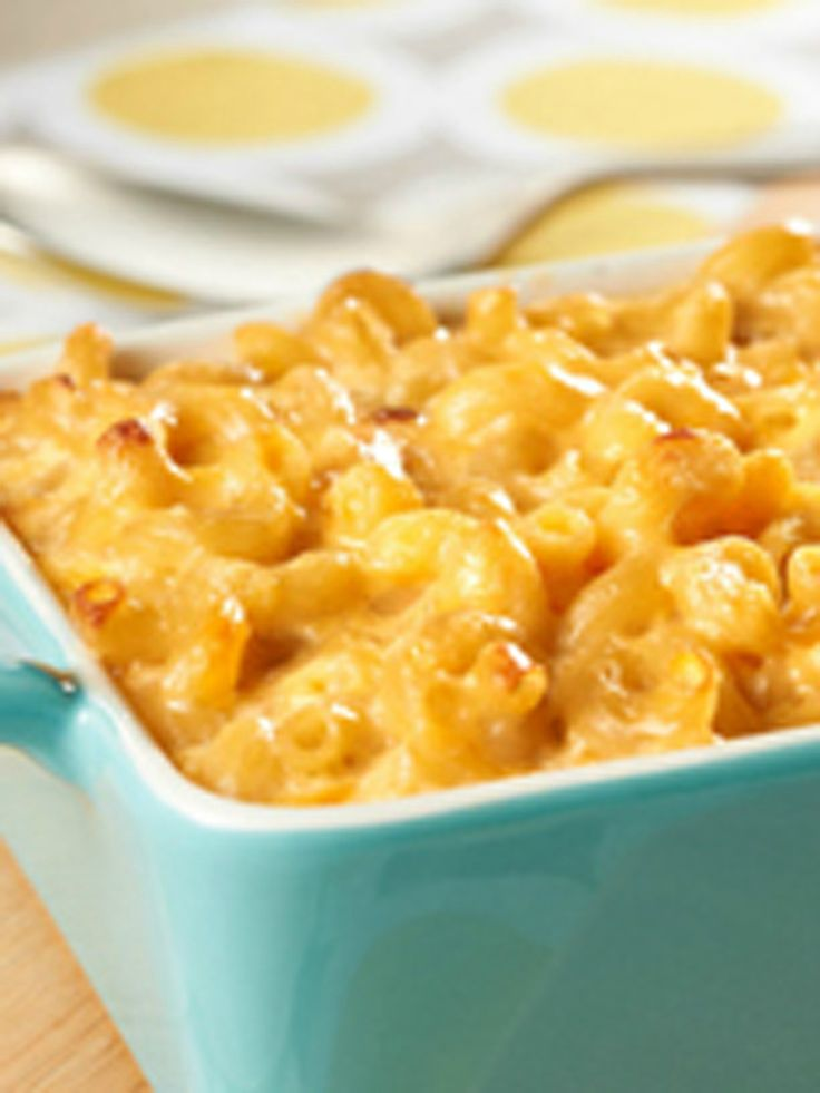 Easy Homemade Macaroni & Cheese -- This cheesy recipe is made extra ...