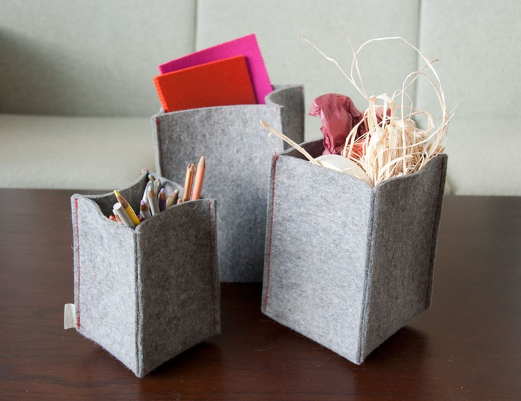 Felt Craft Baskets