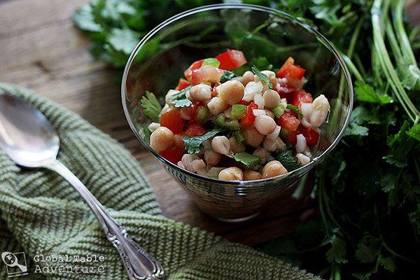 Pakistani Mixed Bean Salad Recipe — Dishmaps