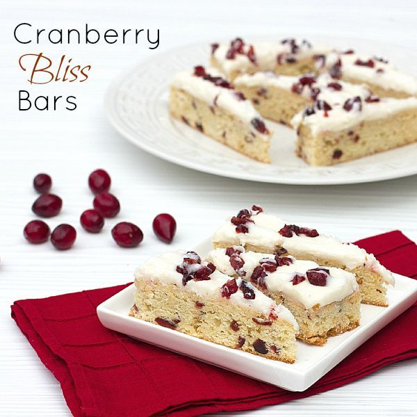 Cranberry Bliss Bars - Starbucks Copycat Recipe