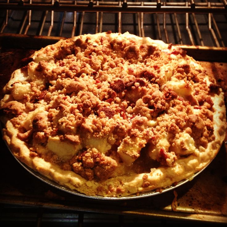 Bacon Bourbon Apple Pie. | Foodie | Pinterest