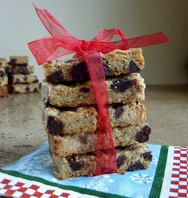 coffee and chocolate chip shortbread | Cookies | Pinterest