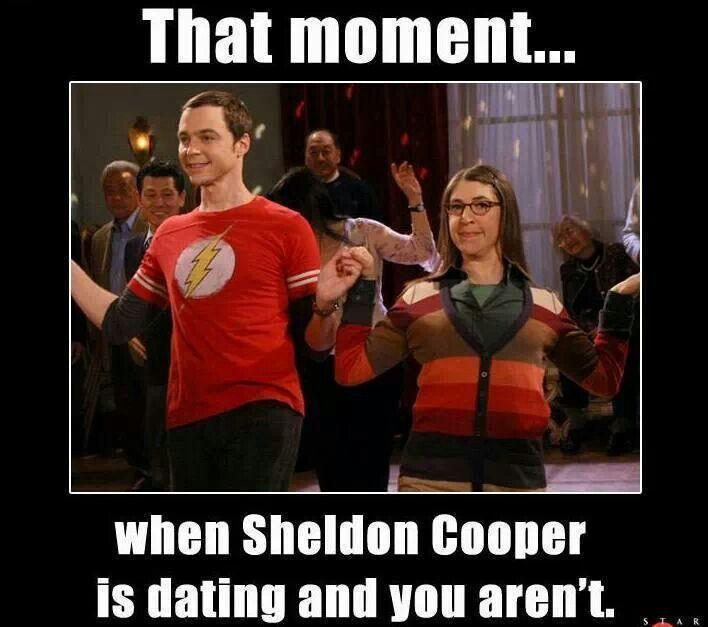 Is sheldon cooper dating amy
