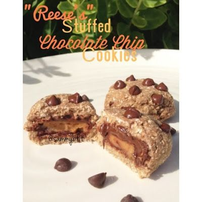 """With Peanut Butter on Top: """"Reese's"""" Stuffed Chocolate Chip Coo..."""