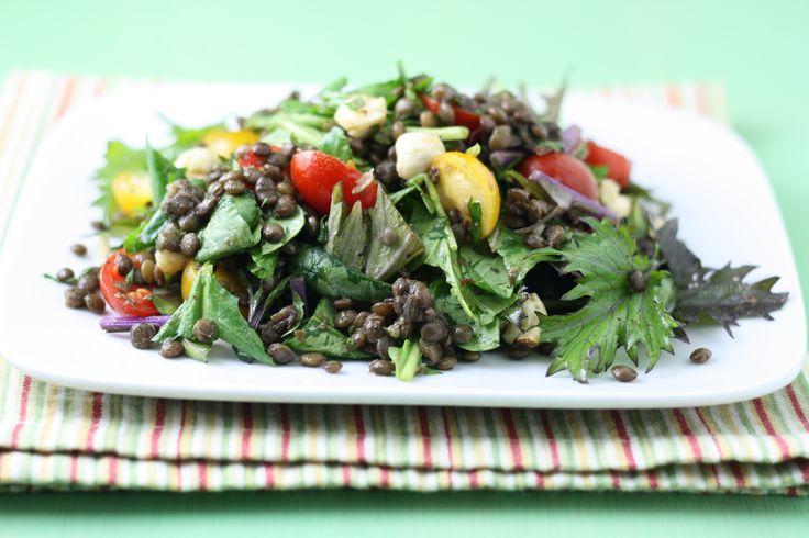 Summer Tomato Lentils Recipe — Dishmaps