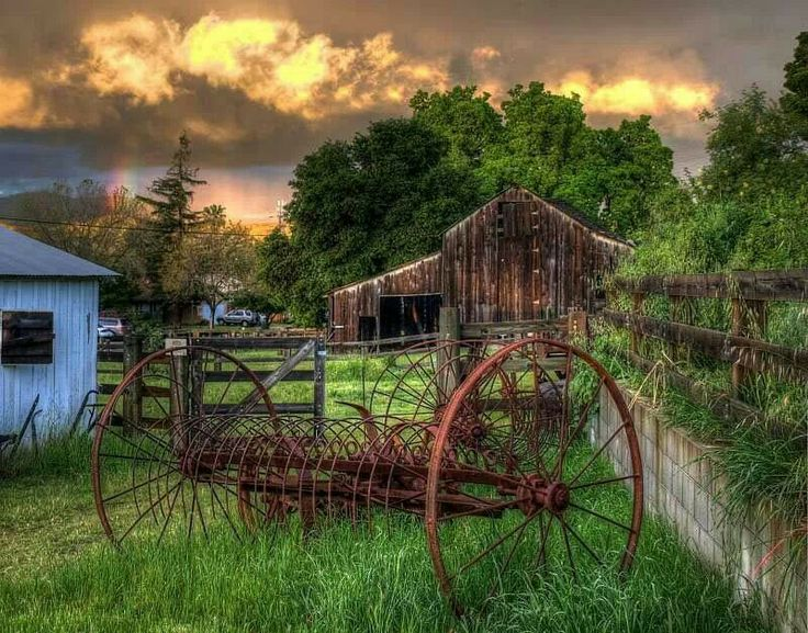 I love old farm equipment country living pinterest for Ranch and rural living
