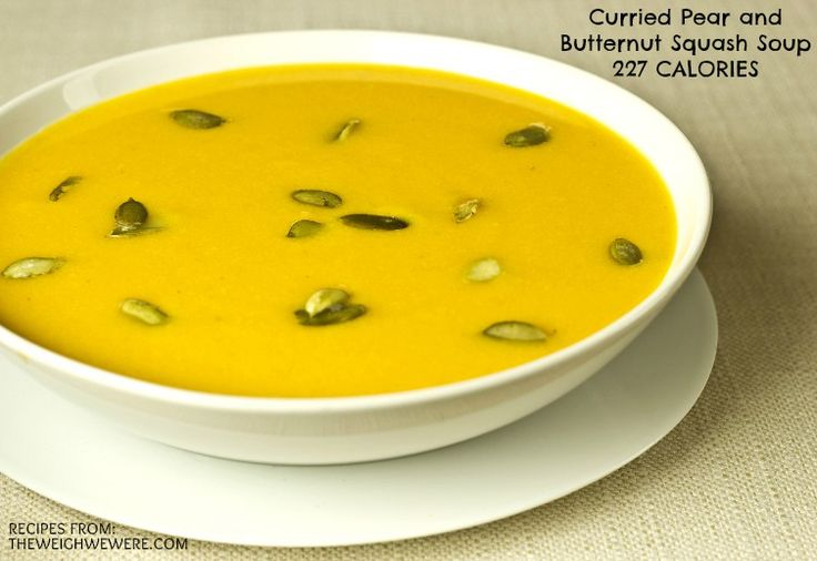 squash and pear soup recipe yummly curried butternut squash and pear ...
