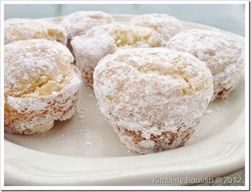 powdered sugar doughnut muffins | maladaptivewriter | Pinterest