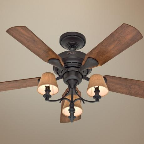 master bedroom lamps plus 46 hunter newstead bronze ceiling fan