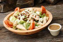 The Wobbs Salad :Crisp romaine, smoked bacon, grilled chicken, vine ...