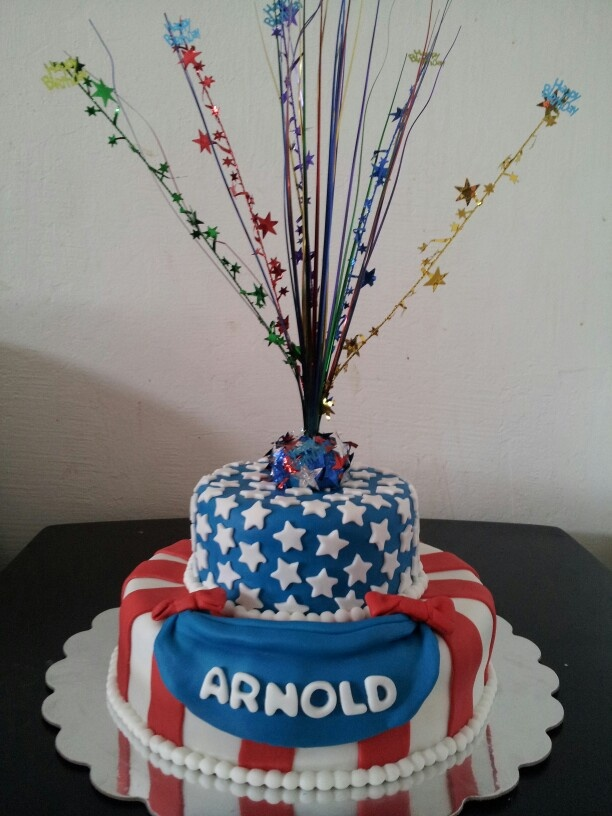 july 4th birthday cakes