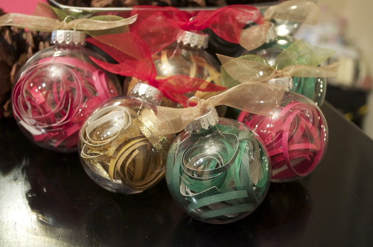 Mildly obsessed with these DIY ornaments from @sunshinebradly!!!!